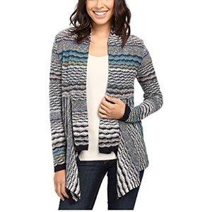 NIC+ZOE Shaded Stripes Cardigan Size PS